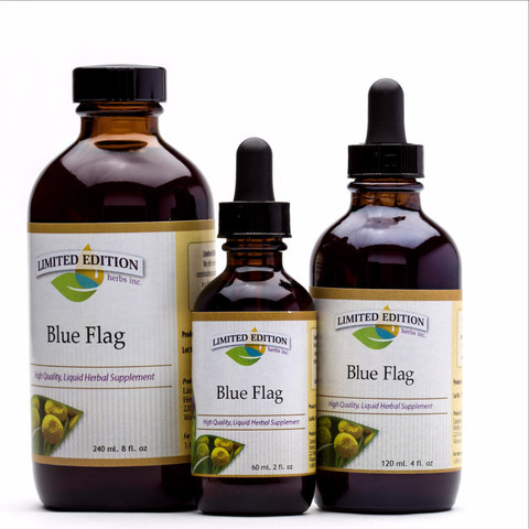 Blue Flag- 2 oz. tincture