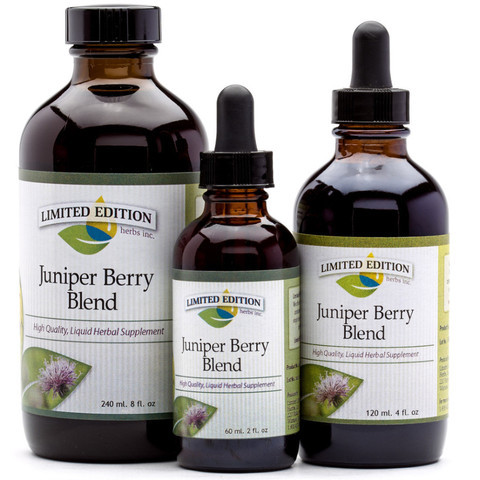 Juniper Berry Blend- 2 oz tincture [Multi track- no alcohol]