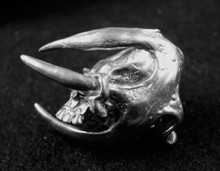 """Death by Antlers"".. Solid 1 oz. paperweight"