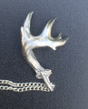 Single shed 10 pointer with two stickers. Half Dollar size. Stainless Steel
