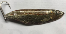 "3"" long 3/4 ounces solid bronze."