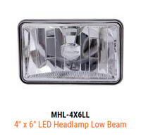 Maxxima LED 4X6 Low Beam Headlight