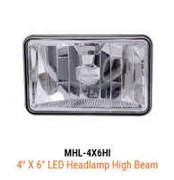 Maxxima LED 4X6 High Beam Headlight
