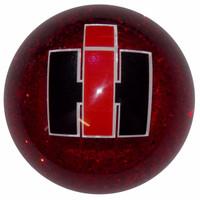 Shift Knob International Glitter Red Threaded