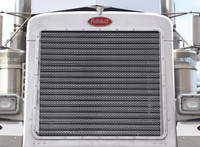 379 Peterbilt REGULAR Hood 17 Horizontal Bar Python Grill Insert