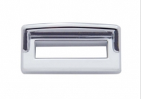 Kenworth Chrome Toggle Switch Label Cover With Visor 6 Pack