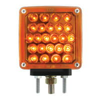 Square Double Sided LED Pedistal Pearl Lights with Universal Single or Double Studs