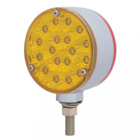 Round Pedistal LED Double Face Single Stud