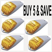 Cab Light Square 17 LED Complete Kit Bulk Package