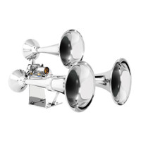 Heavy Duty Chrome Train Horns