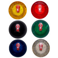 Shift Knob Kenworth Glitter Round Threaded