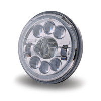 "LED Headlight Sealed Beam 7"" Round Projector"