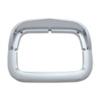 "Single 8"" x 6"" Headlight Bezel w/ Visor"