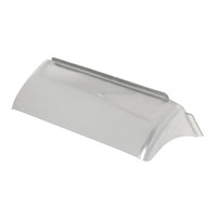 Dual Rectangular Headlight Visor with Curve
