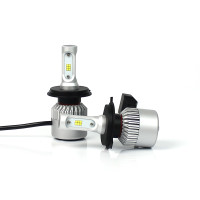 LED H4 Headlight Bulbs 8000 LUMENS