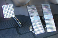 Peterbilt Pedal Set Billet 2001-Current