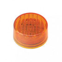 "9 LED 2"" Round Amber Marker Light"