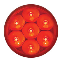 "2"" LED Pearl Red Marker Light"