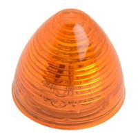 """LED 2"""" Beehive Amber Marker Light"""