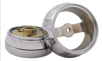 Chrome - 3-Hole Bolt Pattern - Includes Bezel