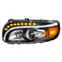 BLACKOUT PROJECTION HEADLIGHT. PAIR