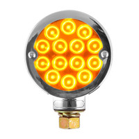 "3"" PEARL LED DOUBLE FACE LIGHT AMBER/RED"