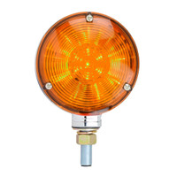 "4"" DOUBLE FACE STAR LED PEDESTAL LIGHT AMBER/RED"