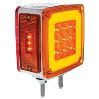 PASSENGER SIDE 59 LED DOUBLE FACE LIGHT AMBER/RED