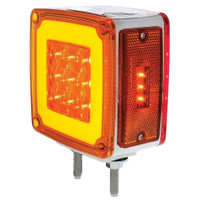 59 LED DOUBLE FACE LIGHT DRIVER SIDE AMBER/ RED