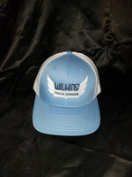 LIGHT BLUE WILKINS OKLAHOMA TRUCK SUPPLY HAT