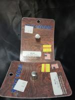 "SS KNOB FITS 2"" DIAMETER GAUGE CLOCK DESIGNED FOR PETERBILT TRUCKS"