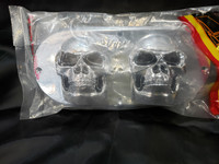 PLASTIC SKULL BEZEL FOR OVAL SEALED LIGHT