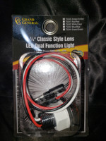 "1.25"" CLASSIC STYLE LENS LED DUAL FUNCTION LIGHT"