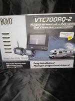 "7"" DIGITAL WIRELESS BACK UP CAMERA W/BUILT IN MONITOR & 2 CAMERAS"