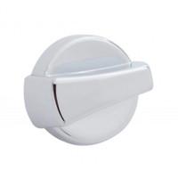 Chrome Plastic A/C Control Knob for Peterbilt