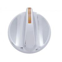 Chrome Plastic A/C Control Knob for Kenworth 2002 A/C Knob