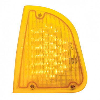 Driver Side 29 Amber LED Front P/T/C Light for Kenworth
