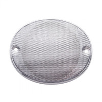 Chrome Plastic Speaker Cover for Kenworth and International