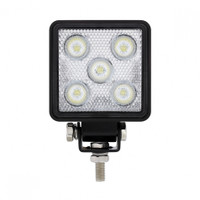 High power LED lights with flood function for wide area coverage