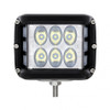 12 high power 3W LED lights with spot & side firing flood function for powerful performance