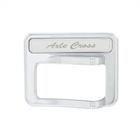 Chrome Rocker Switch Cover - Axle Cross