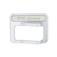 Chrome Rocker Switch Cover - PTO Control