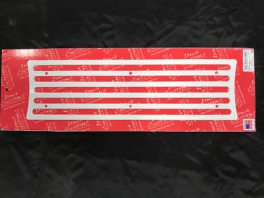 Iowa Customs Step Plate Insert- White