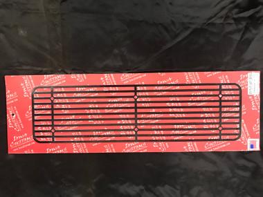 Iowa Customs Step Plate Insert New Style- Black