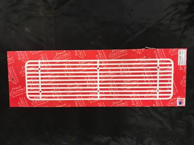Iowa Customs Step Plate Insert New Style- White