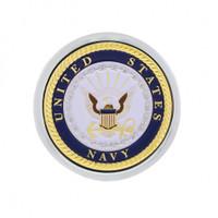 Deluxe Military Medallion Air Valve Knobs - Navy