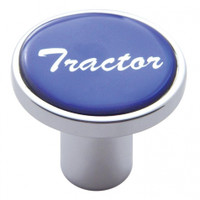 """Tractor"" Air Valve Knob - Blue Glossy Sticker"