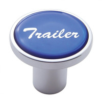 """Trailer"" Air Valve Knob - Blue Glossy Sticker"