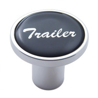 """Trailer"" Air Valve Knob - Black Glossy Sticker"