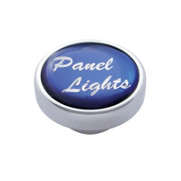 """Panel Lights"" Dash Knob - Blue Glossy Sticker"